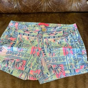 Lilly pulitzer shorts size 4 nwot